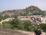 Vindhyagiri - View of Chandragiri 14 Mandirji