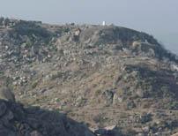 Kotishila temple view from Sidhhsila