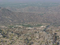 Vidhyasagar Tapovan view from Sidhhsila
